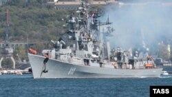 Российский сторожевой корабль «Сметливый».