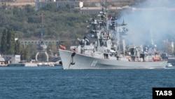 Архивное фото: сторожевой корабль «Сметливый» в Севастополе, Крым