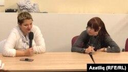 Александра Крыленкова һәм Елена Горбань