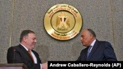 مایک پومپیو وزیر خارجه امریکا در مصر