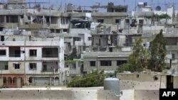 نمایی عمومی از اردوگاه نهرالبارد، یک روز پیش از حمله