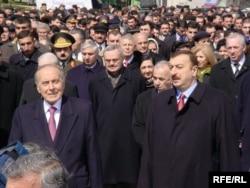 Heydər Əliyev və İlham Əliyev, 21 mart 2003