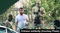Задержание имама Раифа Февзиева в Крыму, 17 августа 2021 года