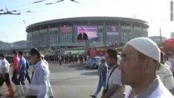 Мусульмане встречают Ураза-байрам в Москве