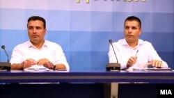 Зоран Заев и Љупчо Николовски