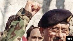 آقای مشرف قرار است که روز پنجشنبه برای دور جدید ریاست جمهوری سوگند یاد کند.