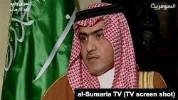 Посол Саудовской Аравии в Ираке Тамер аль-Сабхан.