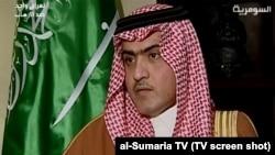 Ambasadori i Arabisë Saudite në Bagdad, Thamer al-Sabhan.
