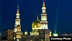 Russia -- New Cathedral mosque of Moscow