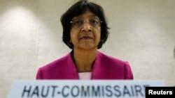 ناوی پیلای، مسئول کمیساریای عالی حقوق بشر سازمان ملل متحد