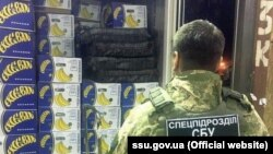 Ofiţer SBU şi drogurile printre banane. Portul Odesa, 21 martie 2019