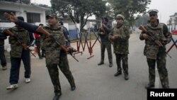 شماری از نیروهای مسلح پاکستان