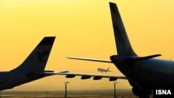 در پی توقف سوخترسانی به بسیاری از شرکتهای هواپیمایی داخلی ایران، پروازهای این شرکتها لغو شده بود.