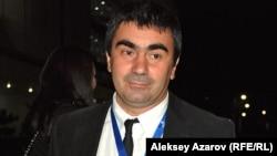 Георгий Овашвили – один из членов жюри международного конкурса. Алматы, 21 сентября 2012 года.