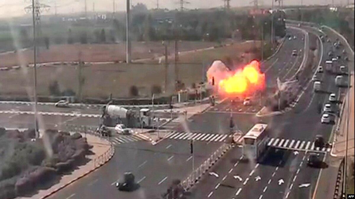 Новый израильский авиаудар в секторе Газа, число погибших возросло до 12