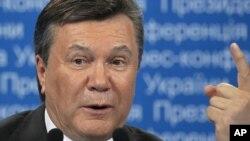 Украина президенті Виктор Янукович