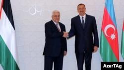 Махмуд Аббас и Ильхам Алиев