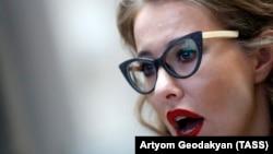 Ксения Собчак. 31 января 2018 года.