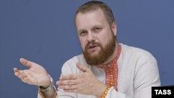Лидер движения «Русские» Дмитрий Демушкин.