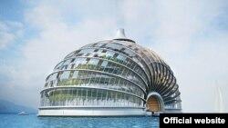 Hotel Arka, projekat ruskog arhitekte Alexandera Remizova o hotelu koji sam stvara energiju