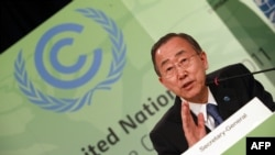 United Nations Secretary General Ban Ki-moon calls for a cooling of tensions between West and Iran.