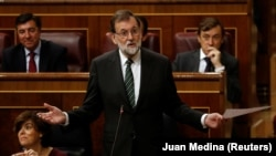 Spanish Prime Minister Mariano Rajoy's cabinet will meet to activate Article 155 of Spain's constitution allowing Madrid to impose direct rule on a region if it doesn't comply with its legal obligations.