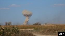 Під час військової операції проти бойовиків у Сирії, 10 листопада 2015 року