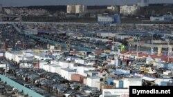 Рынак у Ждановічах пад Менскам<br /><br />