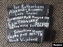 Надписи на оружии Тарранта