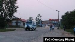 На улицах Томска, архивное фото