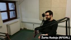 Igor Štiks u beogradskom studiju RSE