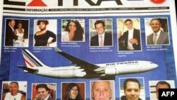 Первая полоса бразильской газеты от 2 июня 2009 года с сообщением об авикатастрофе лайнера А-330 компании Air France