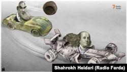 Iran's rial overtaken by US dollar by Shahrokh Heidari for Radio Farda