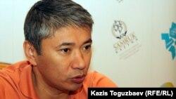 Талгат Ермегияев, в бытность председателем агентства по делам спорта и физической культуре. Алматы, 13 августа 2012 года.