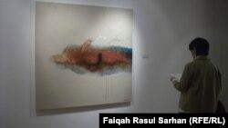 جانب من معرض الفنان رافع الناصري