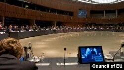 Një nga mbledhjet e Parlamentit Evropian