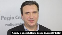 Павло Шеремета в студії Радіо Свобода