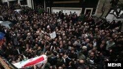 تشییع مسعود علیمحمدی روز پنجشنبه در قیطریه تهران.
