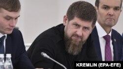 Глава Чеченской Республики Рамзан Кадыров на встрече Государственного совета в Кремле. 26 декабря 2019 год, Москва.