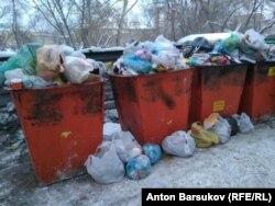 Мусорные контейнеры в Новосибирске