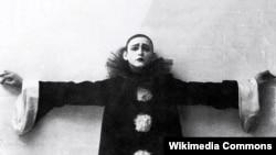 Александр Вертинский в образе Пьеро. Неизвестный фотограф