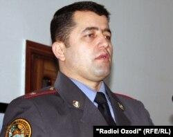Маҳмадулло Асадуллоев, сухангӯи вазорати умури дохилии Тоҷикистон.