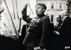 Генерал Франко, 1939 год