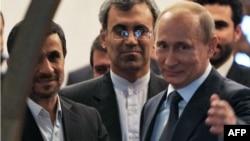 Махмуд Ахмадзінэжад і Уладзімір Пуцін