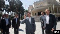 محمود احمدینژاد، رییسجمهوری ایران.