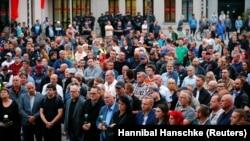 Protest pristalica populističe Alternative za Nemačku, ilustrativna fotografija