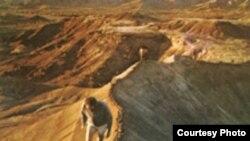 Область в Афарской пустыне, восточная Эфиопия, где были найдены останки австралопитеков.