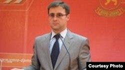 Директорот на Центарот за комуникации на ВМРО-ДПМНЕ Илија Димовски.