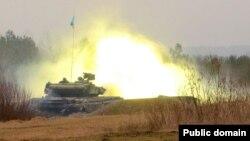 Украин армиясына таандык танк.