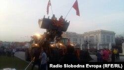 """Протести во Скопје на иницијативата """"За Заедничка Македонија"""" 24.03.2017"""